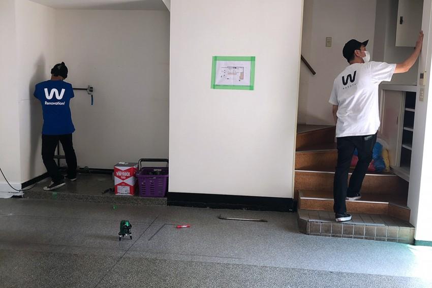 【ベリカフェ】 内装工事はじまってます!
