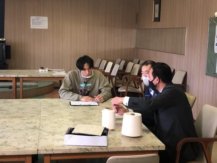 MAG!C☆PRINCEの平野泰新さんが「カワボウ繊維株式会社」の方と対談