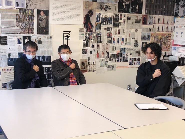 MAG!C☆PRINCEの阿部周平さんが「テキスタイル・マテリアルセンター/毛織会館」を訪問!