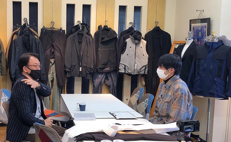 Hi☆Fiveの加藤大悟さんが「サンエース株式会社」を訪問