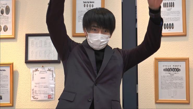 Hi☆Fiveの加藤大悟さんサンエース株式会社の驚きのスーツ