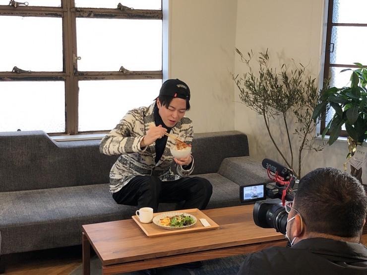 Hi☆Fiveの林拓磨さん「Beringei cafe  べリンゲイカフェ」でランチ