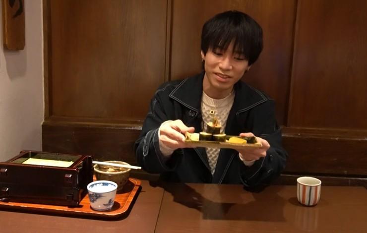 Hi☆Fiveの大谷さんが「吉照庵」でえび天巻
