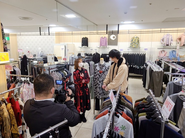MAG!C☆PRINCEの永田薫さんがセレクトショップORIBESQUE(オリベスク)を取材