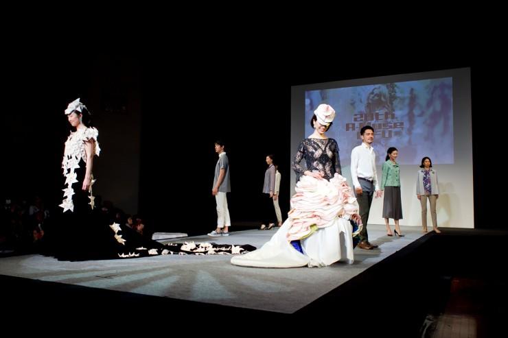 第28回ア・ミューズ岐阜ファッションショーの様子