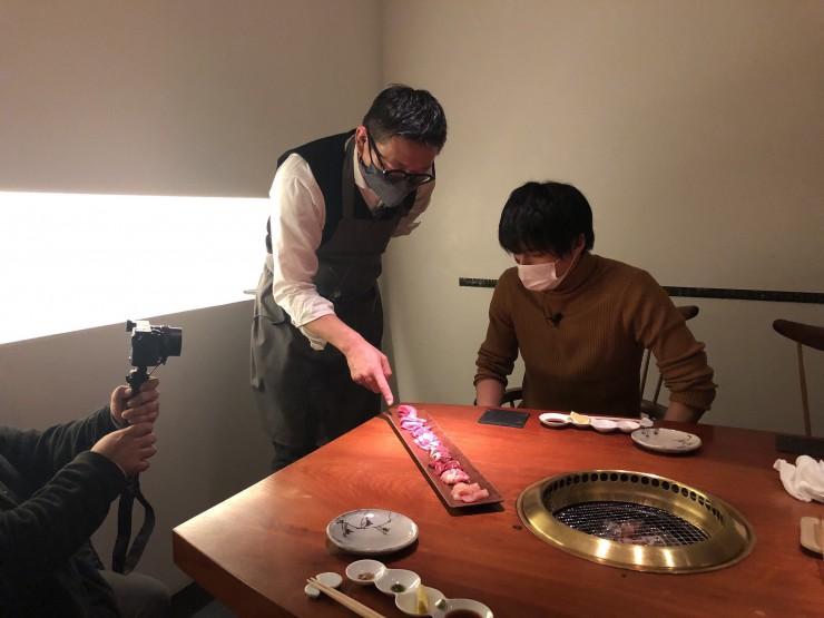 MAG!C☆PRINCEの永田薫さんが「焼肉旬やさい ファンボギ」で熟成肉盛り合わせ
