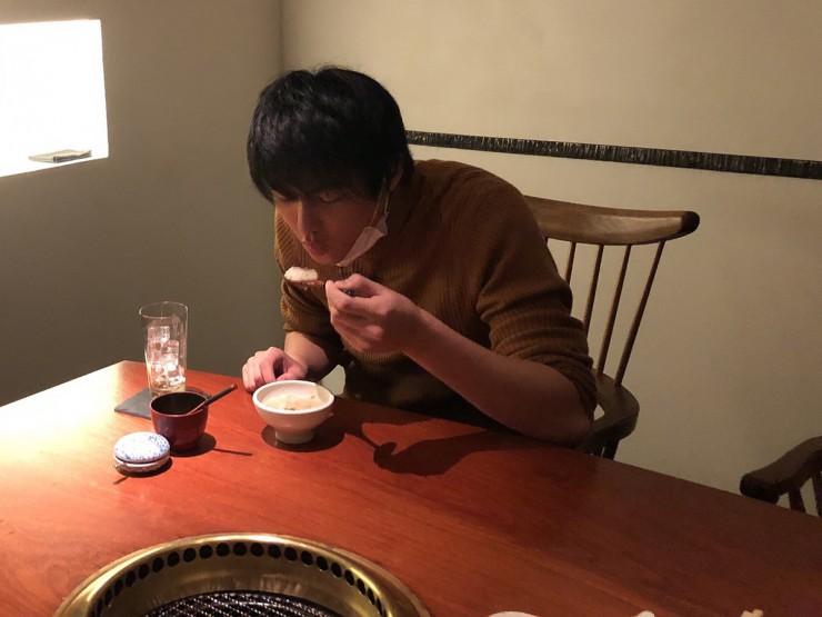 MAG!C☆PRINCEの永田薫さん「焼肉旬やさい ファンボギ」で蔘鶏湯を