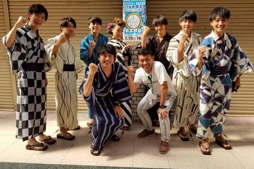 第2回 Tonya Expo~日本の陣~浴衣着こなしコンテスト&盆踊り