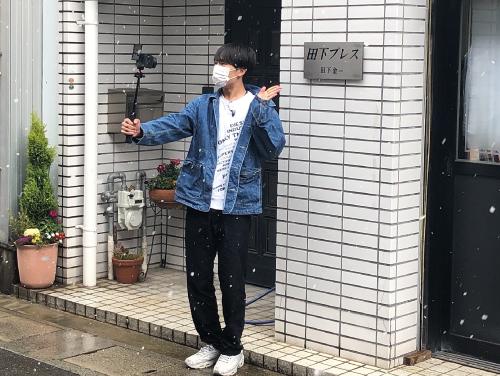 【ギフまるけ!】アパレル編 vol.8 Hi☆Fiveの野口友輔さんが「田下プレス」を訪問!